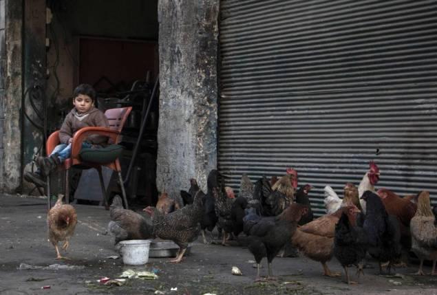 """Dans Alep encerclée, """"tout le monde a peur"""""""